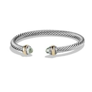 David Yurman Cable Classics Bracelet Stone Ends
